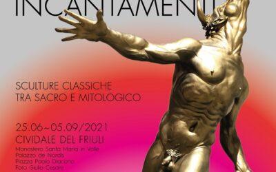 Incantamenti di Alessandro Romano al piano terra di Palazzo del Nordis fino al 05 settembre 2021
